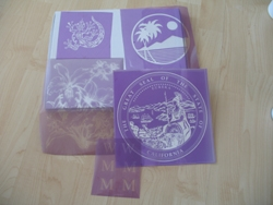 Photo Image Stencil Film for Sandblasting